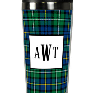 Travel Tumbler - Black Watch Plaid