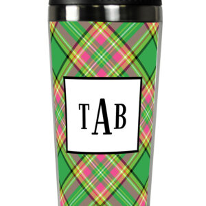Travel Tumbler - Preppy Plaid